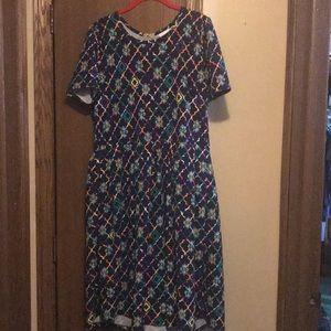LuLaRoe 2XL Amelia Dress